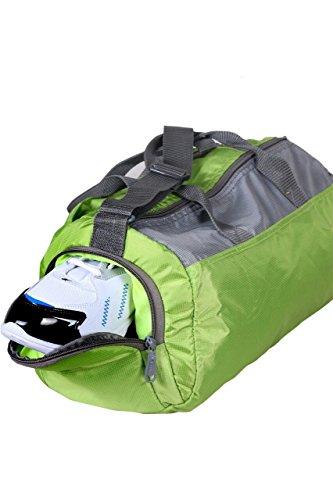 Nylon Light Weight UniSex Orange Color Easies Gym Bag