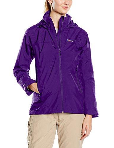 Berghaus Women's Stormcloud Waterproof Jacket – Tillandsia Purple/Tillandsia Purple, Size 8 by Berghaus