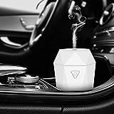 Rovtop Mini USB Diffusore Auto Umidificatore Diffusore ultrasonico di Oli Essenziali Nebbia Fresca d'Aria Senz'acqua Spegnimento Automatico per Auto Camera da Letto con Caricatore per Auto