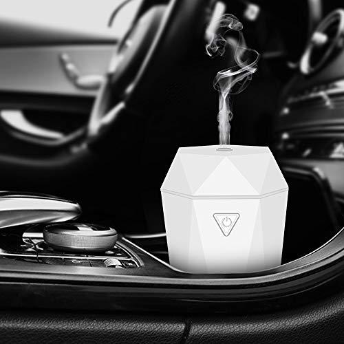 Rovtop Deodorante Auto, Profumo Auto 2 in 1 Umidificatore per Auto, Profumi Auto per Viaggio, Ufficio, Camera, Veicolo (Nero)