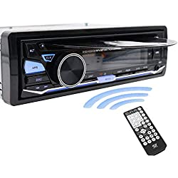 1 DIN 12 V Autoradio CD lecteur de Bluetooth DVD radio MP3/USB/SD/AUX/FM par Hengweili