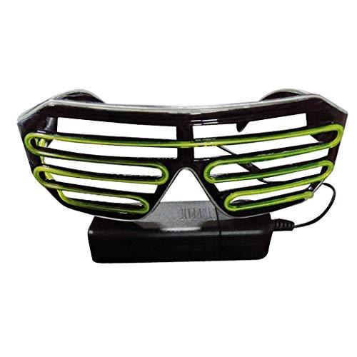 Igemy Neuheit LED Club Party Leuchten Brillen (E)