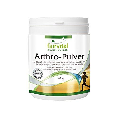 Arthro-Pulver Collagen, Glucosamin, Chondroitin für die Gelenke 400 gr reines Pulver