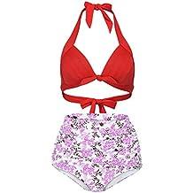 Luckycat Parte de Arriba de Bikini con Detalle Anudado Mujer