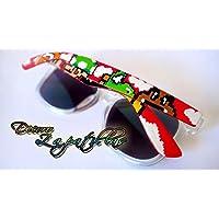 Gafas de sol personalizadas customizadas Retro pintadas a mano Super Mario. Zelda , Pokemon - regalos cumpleaños - regalos el - regalos ella - aniversario - San Valentin