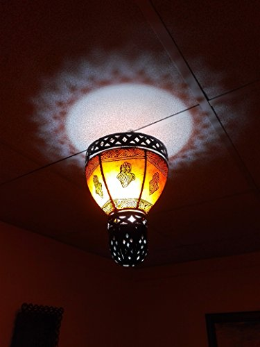 1142093 LAMPARA SOBREMESA HIPPIE ROSA