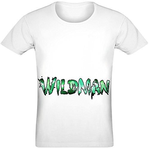 Wildman T-Shirt for Men & Women - 100% Soft Polyester - All-Over Sublimation Printing - Custom Printed Unisex Clothing