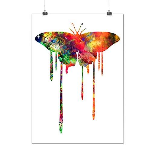 artistique-papillon-couleur-charme-matte-glace-affiche-a2-60cm-x-42cm-wellcoda