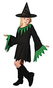 Bristol Novelty bruja vestido, verde