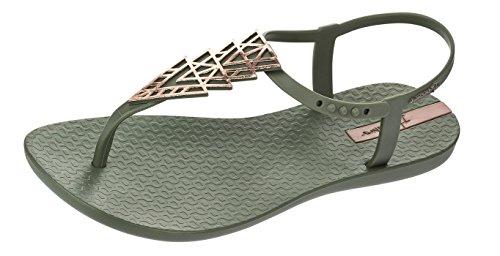 Ipanema Charm II Flip Flops femmes / Sandales green