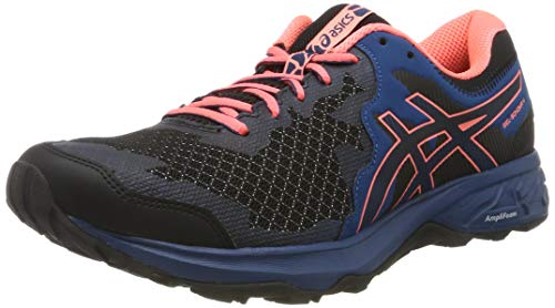 Asics Gel-Sonoma 4, Zapatillas de Running para Mujer, Negro Black/Sun Coral 003, 40 EU