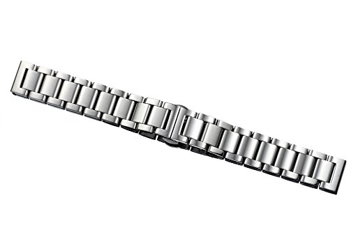 15mm-high-quality-silver-watch-band-bracelets-for-women-solid-stainless-steel-brushed-deployment-cla