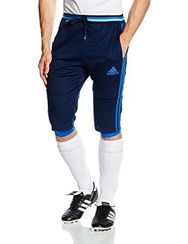 adidas Herren 3/4 Hose Condivo 16, Collegiate Navy/Blue, L, AB3117