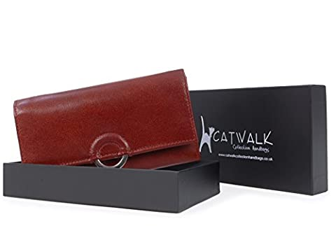 Catwalk Collection Leather Purse - Odette -