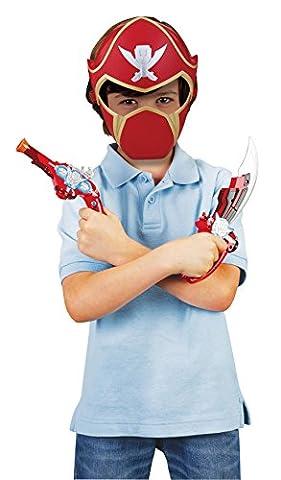 Power Rangers - 38051 - Figurine - Set Heros Super Megaforce Ranger - Rouge