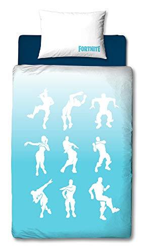 Official Fortnite Single Duvet Cover Battle Royale Bedding Duvet + Matching Pillow Case