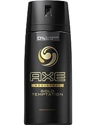 New Design Axe Gold Temptation Deospray 6 x 150ml = 900ml