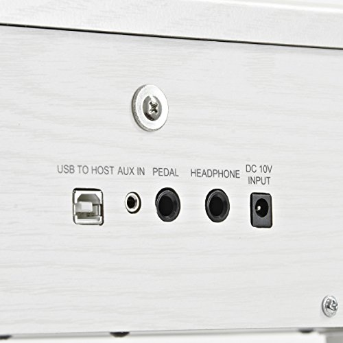 JDP-1 Junior Digitalpiano von Gear4music weiß - 5