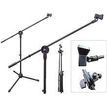 Jirafa con pinzas Soporte de micrófono micrófono Soporte Trípode Modelo: MS7
