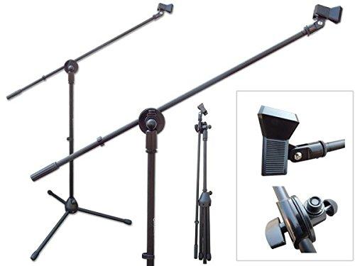 Mikrofonständer mit Galgen inklusive Klemmhalter Mikrofon Ständer Stativ Modell: MS7