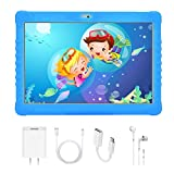 4G Tablet Bambini, 10 Pollici Kids Tablet con WiFi (Android 7.1, Quad-Core, 3+ 32 GB, Batteria 8500mAh, Doble Cámara, Google Play, Juegos Educativos) DUODUOGO G15