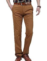 Baymate Hombre Pantalón Casuales al Aire Libre Senderismo Trabajo Pantalones