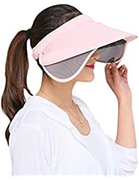 Gorros Gorro De Verano Al Aire para Gorro Libre Mujer Ancho Especial Estilo  Sombrero para El Sol Sombrero De Playa… 29eef9503bc1