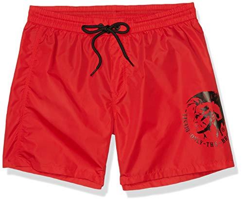 Diesel - Bañador de natación - para Hombre Rojo S