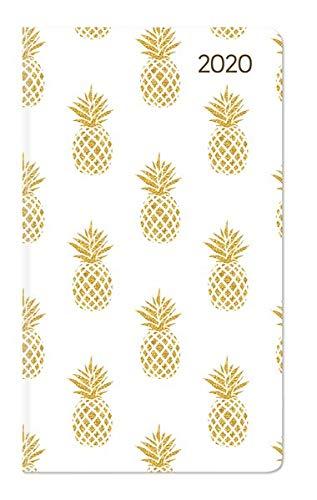 Ladytimer Slim Pineapple 2020 - Taschenplaner - Taschenkalender (9 x 16) - Weekly - 128 Seiten -...