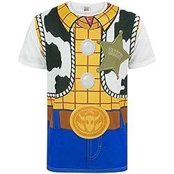 Disney Costume de Woodboy Cowboy Toy Story - T-Shirt pour Adultes