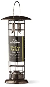 Copper Fabulous Fat Ball Bird Feeder