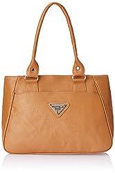 Fostelo Women's Handbag (Beige) (FSB-333)