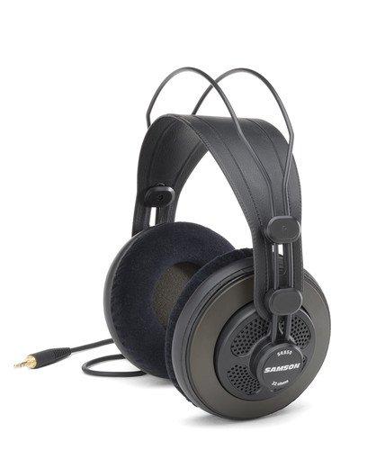 Samson SR850 - Auriculares de diadema cerrados (10 Hz a 30 kHz, 32 ohmios), color negro