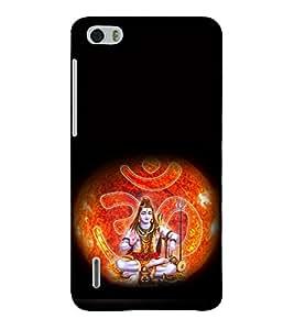 printtech Lord God Om Namah Shivaya Back Case Cover for Huawei Honor 6
