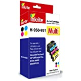 Inkrite Cartridge Multipack for HP 950XL/951XL - Black/Cyan/Magenta/Yellow