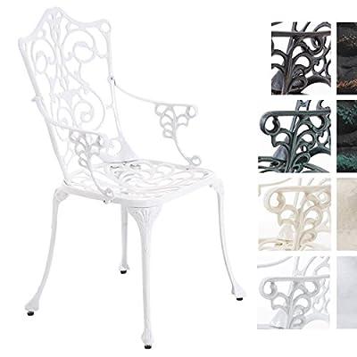 CLP Aluguss Garten-Stuhl DURGA, Metall-Stuhl, antik, Nostalgie von CLP bei Gartenmöbel von Du und Dein Garten