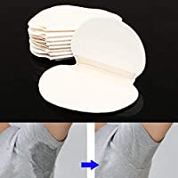 Warehouseshop WSS - 30Pcs Disposable Sweat Absorption Pad Piece Antiperspirant Underarm Armpit Guard Sheet Shield Fresh Dry Outdoor Indoor Party Clubbing