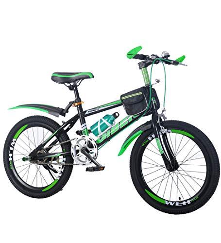 SJSF Y Bicicleta Infantil Niños Y Niñas De 8-9-10-14 Años Frenos De Disco
