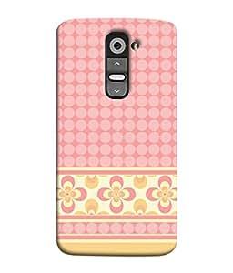 Fuson Designer Back Case Cover for LG G3 Mini (designer pattern theme rangoli art )