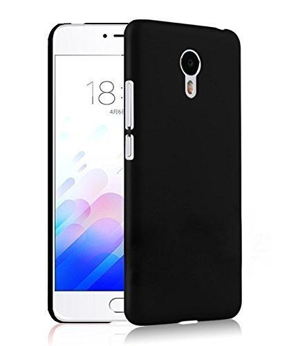 Chevron Meizu M3 Note Rubberised Matte Hard Case Back Cover - Space Black  available at amazon for Rs.65
