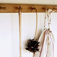 Wooden Shaker Peg Rail with Six Pegs (Natural)