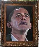 baodanla Nessuna Cornice Ritratto di Pittura a Olio La Collezione di Dipinti a Olio del Presidente Obama ha Un Valore Elevato di 40x60 cm