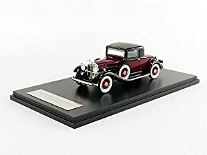 NEO+ - Packard - 902 Standard Eight Copa - 1932 Coche de ferrocarril de Collection, 47105, Rojo/Negro