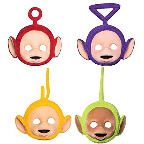 Amscan International 9901379 Teletubbies-Gesichtsmaske aus