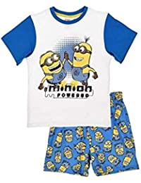 Ensemble pyjama les Minions pour enfant bleu