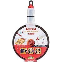 Tefal e5029102Miam creativa sartén para crepes 25cm incluye bote decorativo Décor Nutella