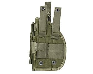 L 'étui à pistolet holster molle tactique de Glock 1911459296avec la poche de Magazine pour Airsoft Chasse
