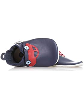 Bobux Car Navy Leather Baby Soft Soles
