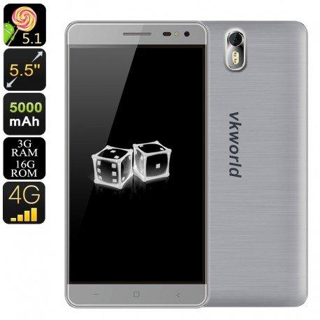 HK Lager Telefon Android VK Welt g1-octa-core CPU, 13MP Kamera, Dual IMEI, 5,5-Zoll-Bildschirm, 3GB RAM, 5000mA (Core-lager)