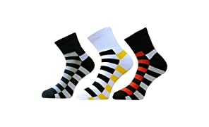 VaCalvers Men's Ankle Length Combo Socks (Multicolour)